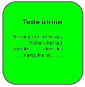 Texte à trous