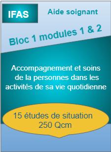Bloc 1 modules 1 et 2 aide soignant