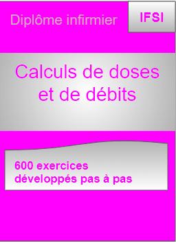 Calculs de doses et de debits min