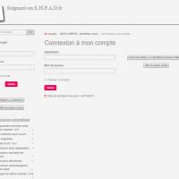 Sur le compte membre renseigner votre identifiant et mot de passe