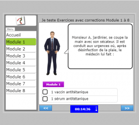 Demo exercices corriges aide soignant module 1 a 8 min