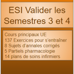 ESI Valider le semestre 3 et 4