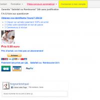 1 cliquer sur acheter