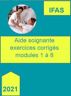 Formation aide soignante 2021 modules 1 a 8