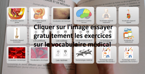 Je test le vocabulaire medical min
