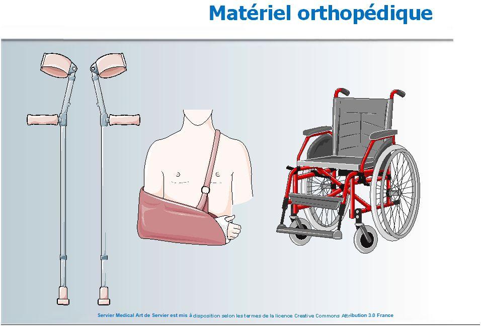 Mat riel orthop dique