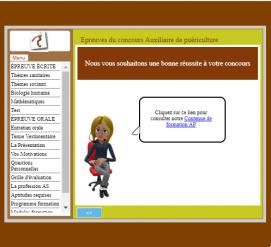 Preparation concours auxilliaire de puericulture