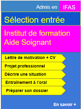 Selection entree en ifas